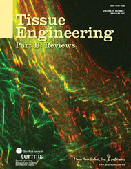 Tissue Engineering cover image