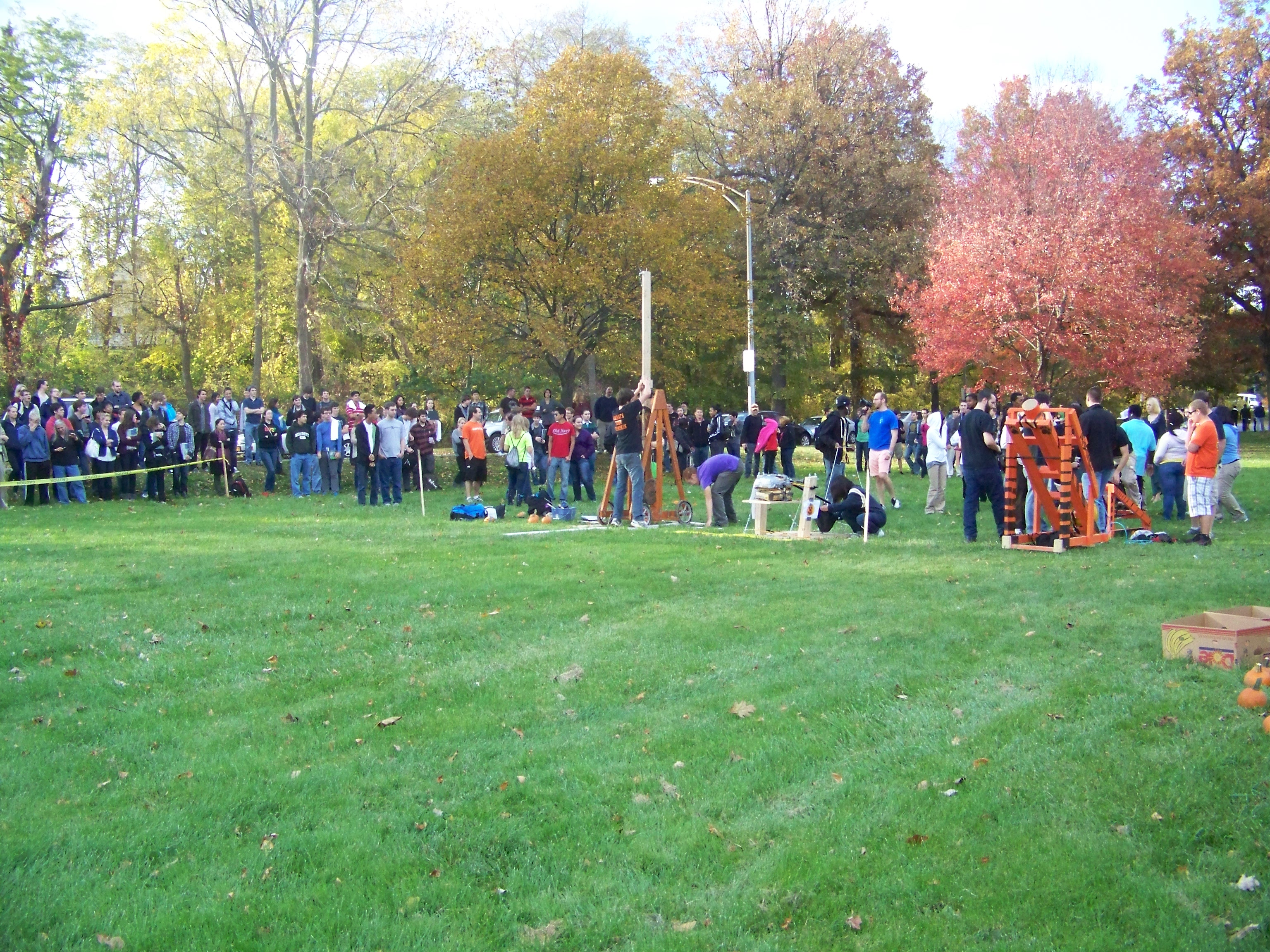 ASME Pumpkin Launch