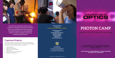 Thumbnail of pdf brochure for photon camp 2016