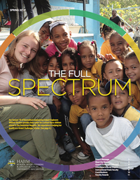 Cover of full spectrum newlsetter