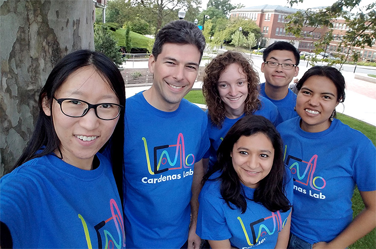 Cardenas Lab Group Picture