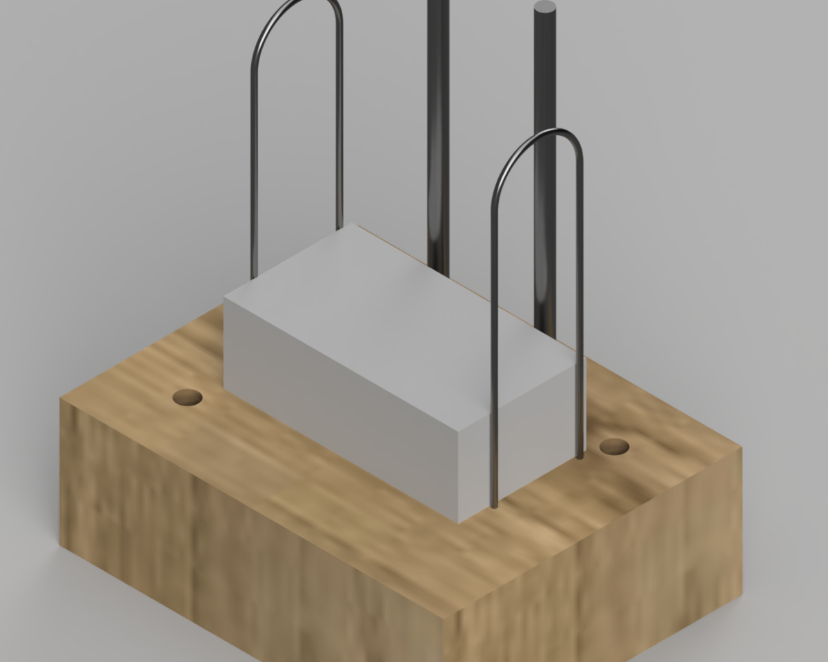 A render of the design for our device.